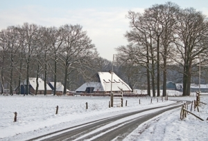 BOE 1 Heuvelink in winterlandschap